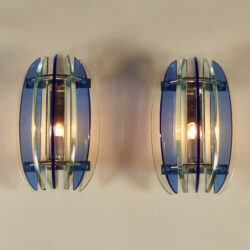 The image for Blue Green Veca Wall Lights 0186 V1