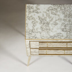 The image for Italian Antique Mirror Bedsides 0032
