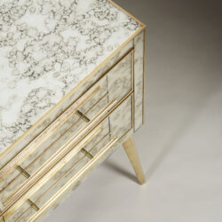 The image for Italian Antique Mirrors Bedsides 0035
