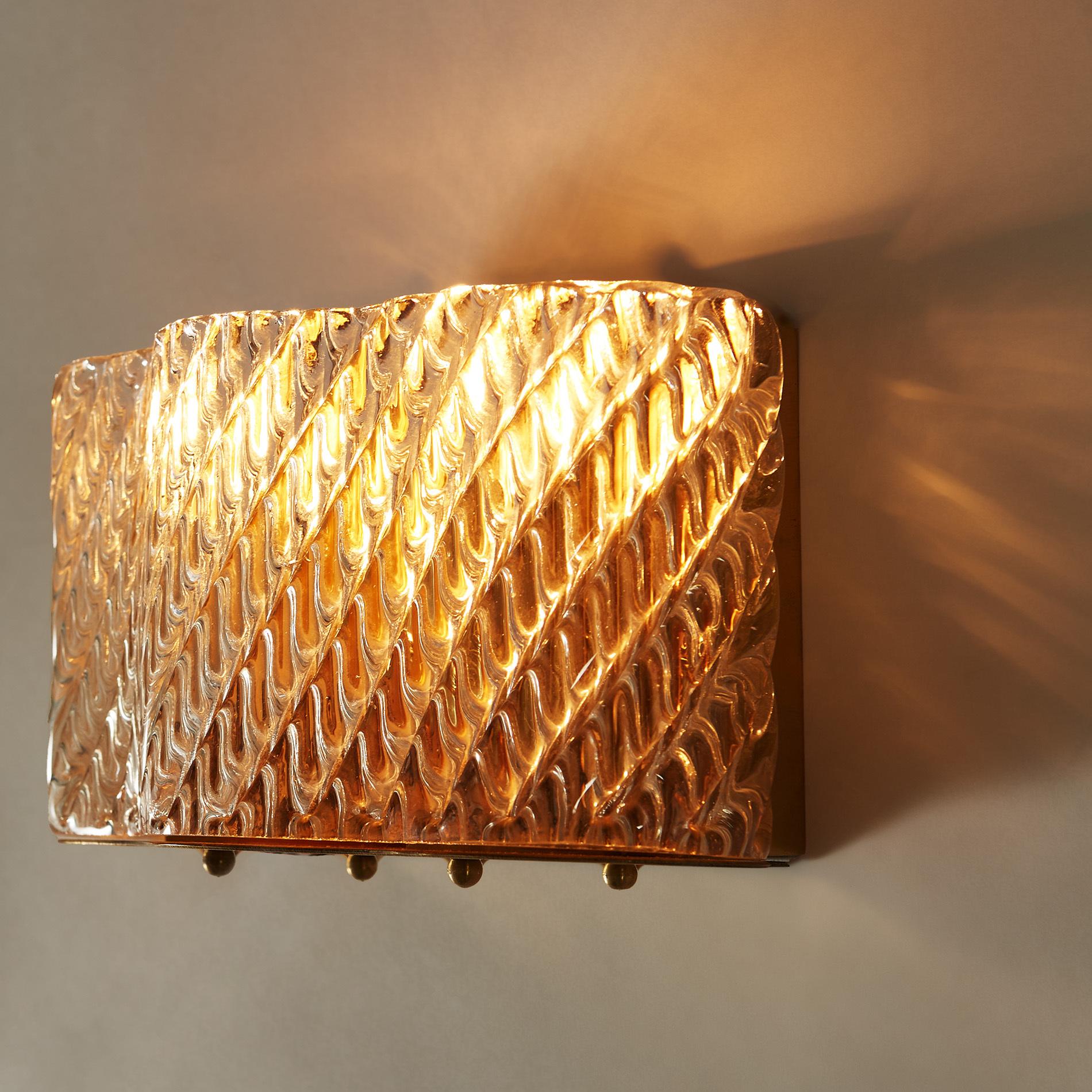 Seguso Diagonal Glass Wall Lights 20210427 Valerie Wade 4 0289 V1