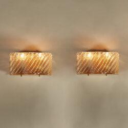 The image for Seguso Diagonal Glass Wall Lights 20210427 Valerie Wade 4 0282 V2