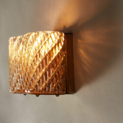 The image for Seguso Diagonal Glass Wall Lights 20210427 Valerie Wade 4 0286 V1