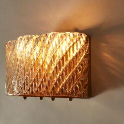 The image for Seguso Diagonal Glass Wall Lights 20210427 Valerie Wade 4 0289 V1