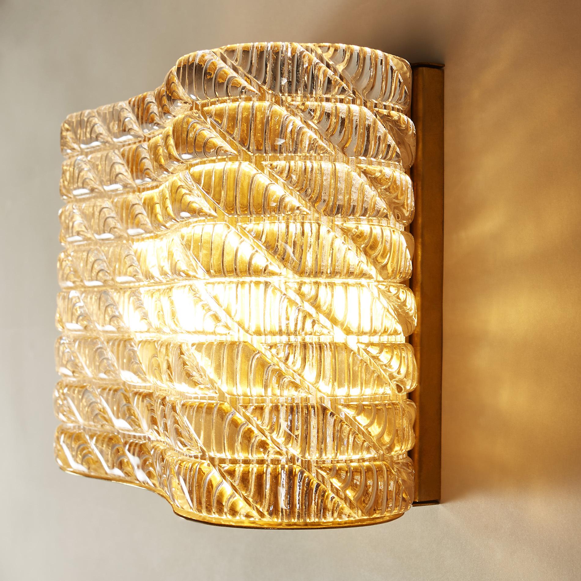Large Seguso Wall Lights V1