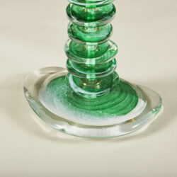 The image for Green Glass Pebble Lamp 0031 V1