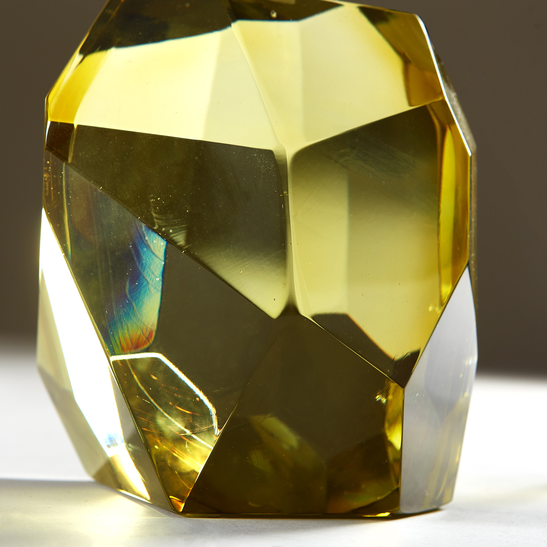 The image for Citrine Yellow Rock Lamp 20210225 Valerie Wade 2 241 V1