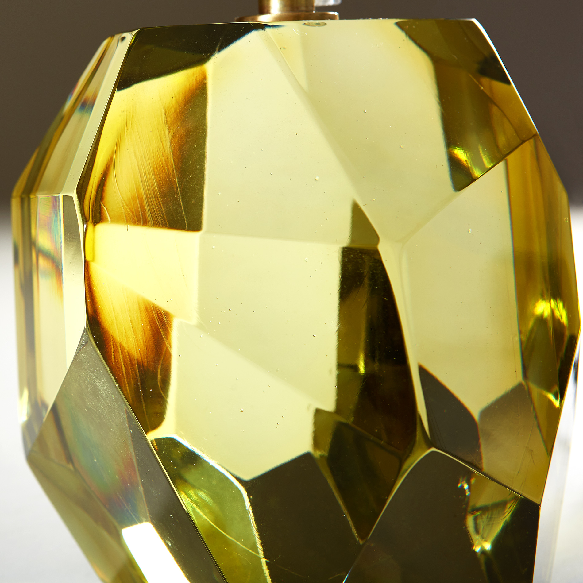 The image for Citrine Yellow Rock Lamp 20210225 Valerie Wade 2 242 V1