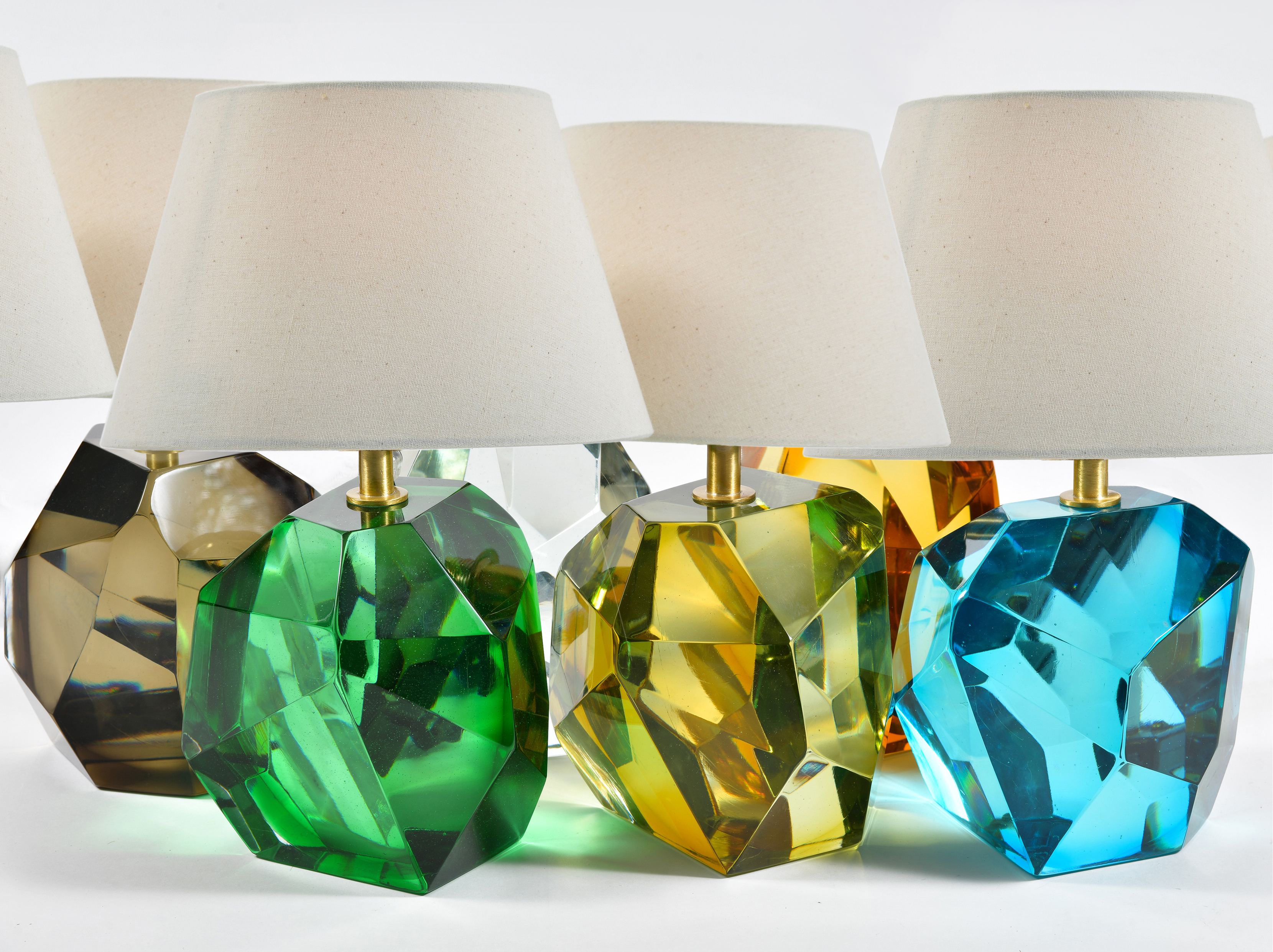Variety Of Rock Lamps