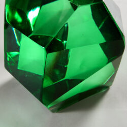 The image for Emerald Green Rock Lamp 20210225 Valerie Wade 2 224 V1