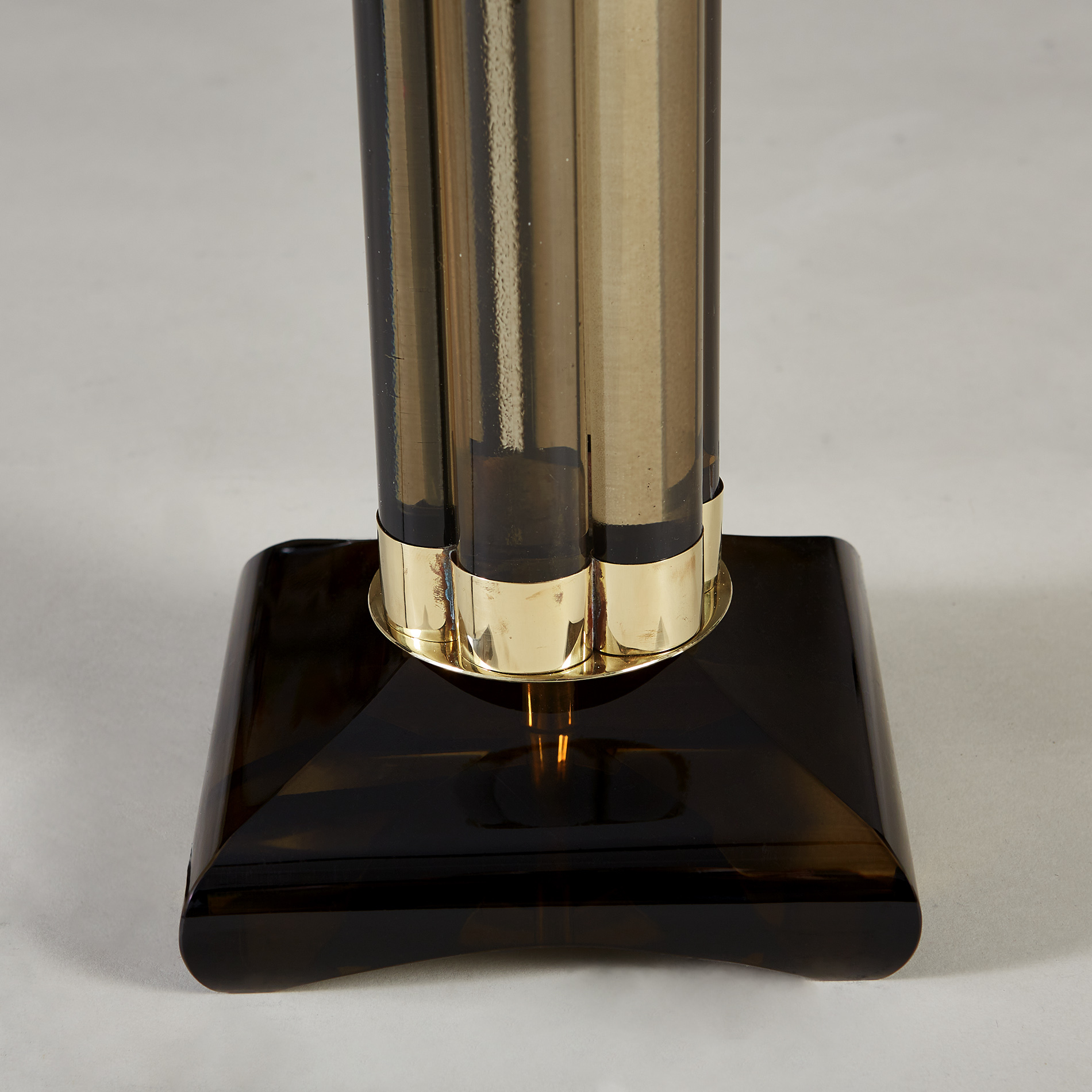 Smokey Crystal Column Lamps 20210225 Valerie Wade 2 192 V1