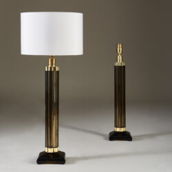 The image for Smokey Crystal Column Lamps 20210225 Valerie Wade 2 184 V1