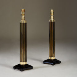 The image for Smokey Crystal Column Lamps 20210225 Valerie Wade 2 195 V1