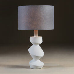 The image for White Savoy Table Lamp 114 V1
