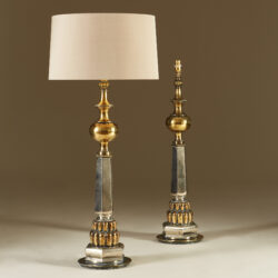 The image for Tall Us Brass And Chrome 1950S Lights 20210427 0061 V1