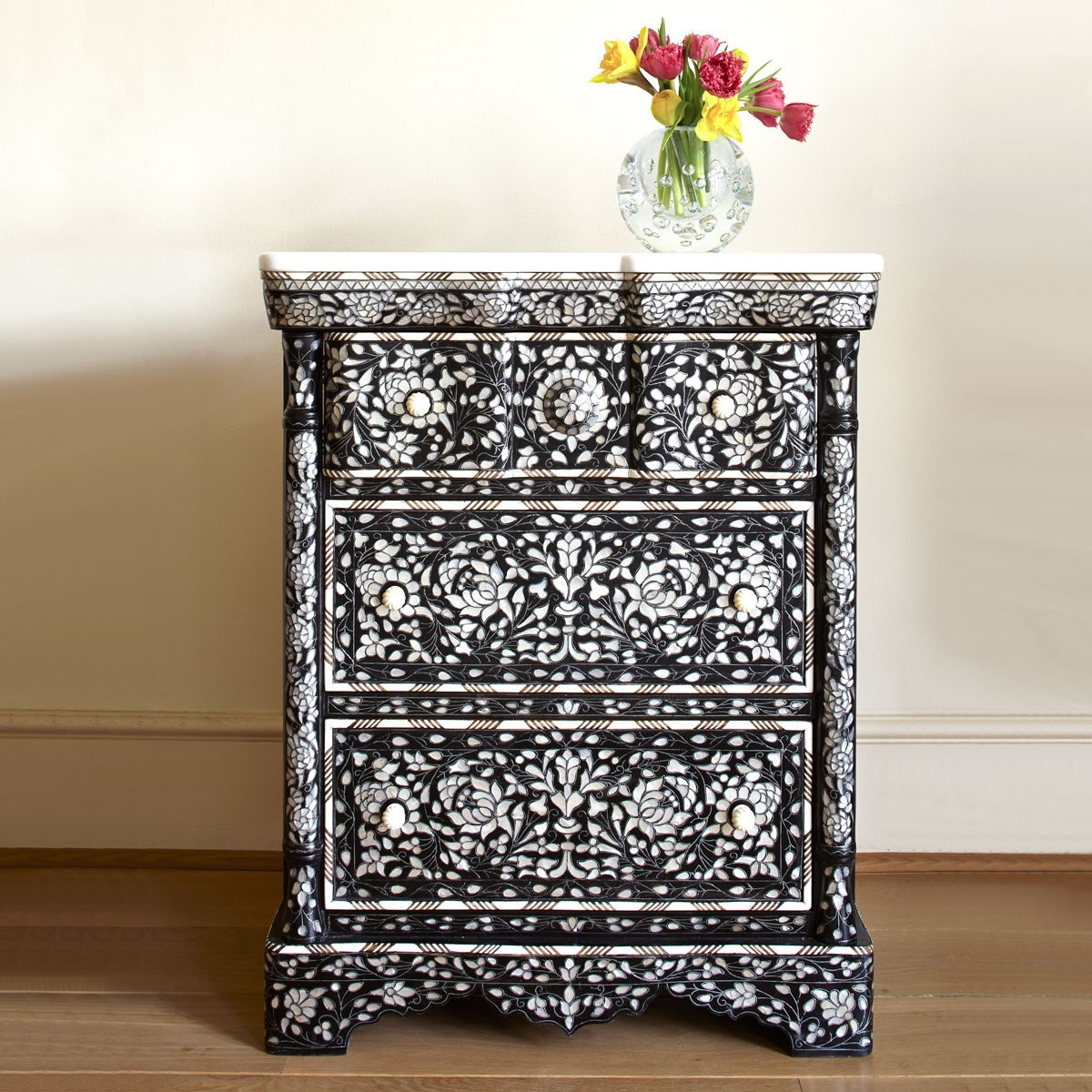 Valerie Wade Fc472 Mother Of Pearl Side Cabinet 01