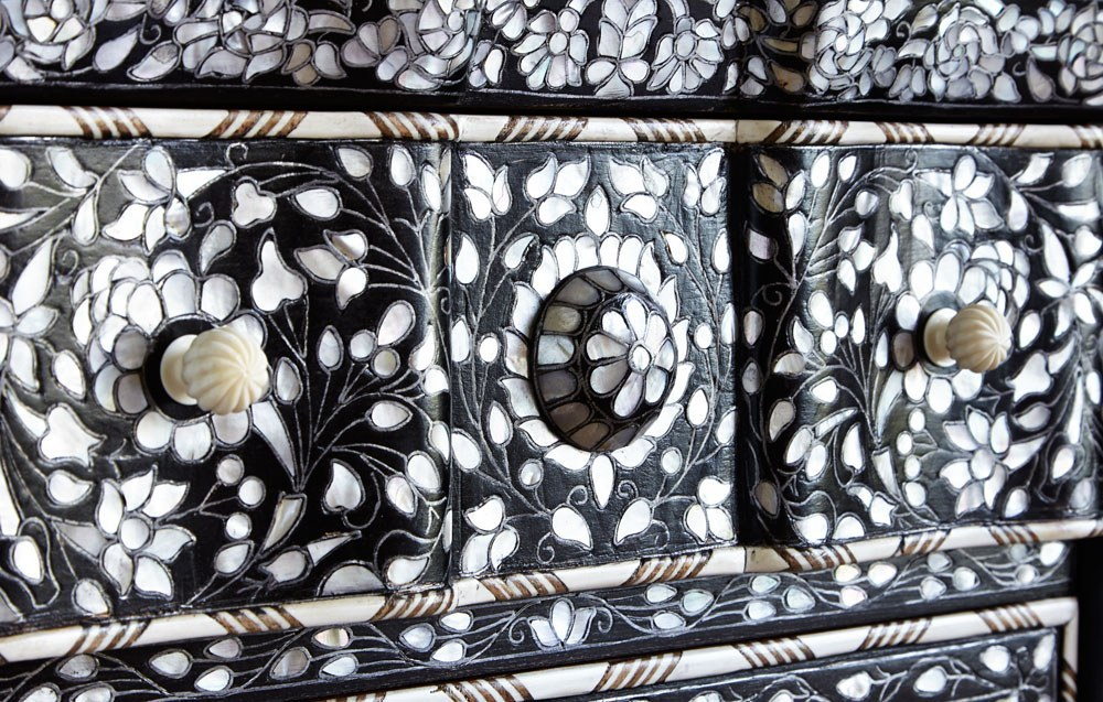 The image for Valerie Wade Fc472 Mother Of Pearl Side Cabinet 05