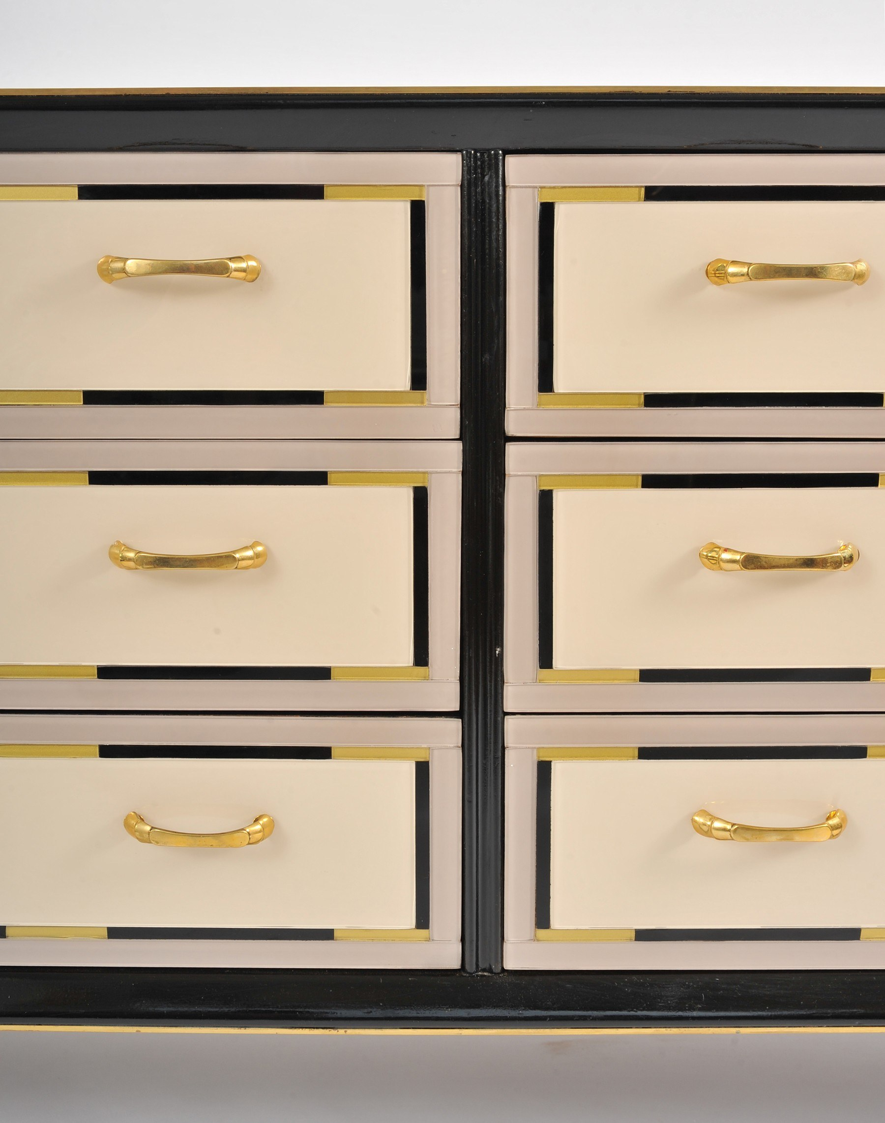 Valerie Wade Fc664 1980S Italian Double Width Chest Drawers 04