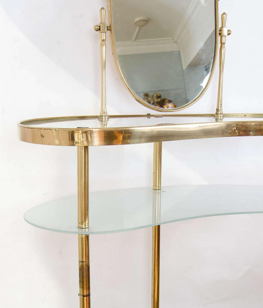 The image for Valerie Wade Fd336 Brass Polka Dot Dressing Table Iii