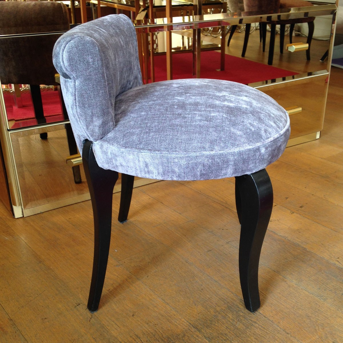 Valerie Wade Fs027 Low Back Upholstered Seat 04