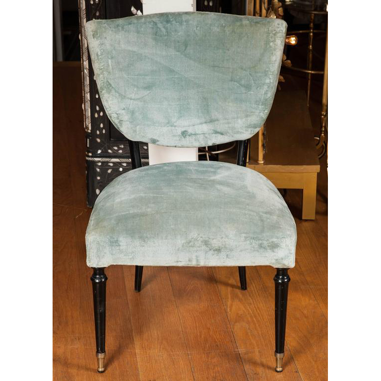 Valerie Wade Fs543 Pair 1950S Side Chairs Paolo Buffa 02
