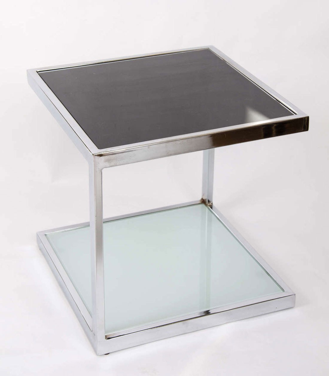 Valerie Wade Ft345 Pair 1950S Chrome Side Tables 02