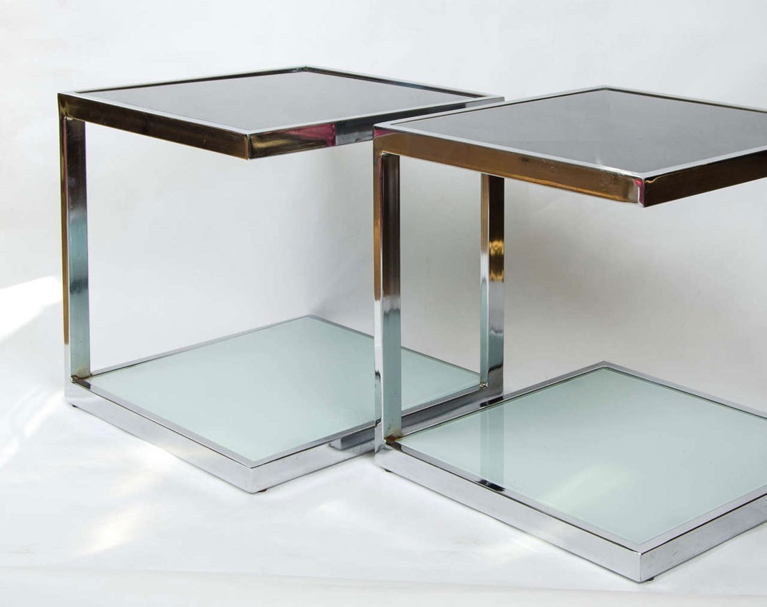 Valerie Wade Ft345 Pair 1950S Chrome Side Tables 03