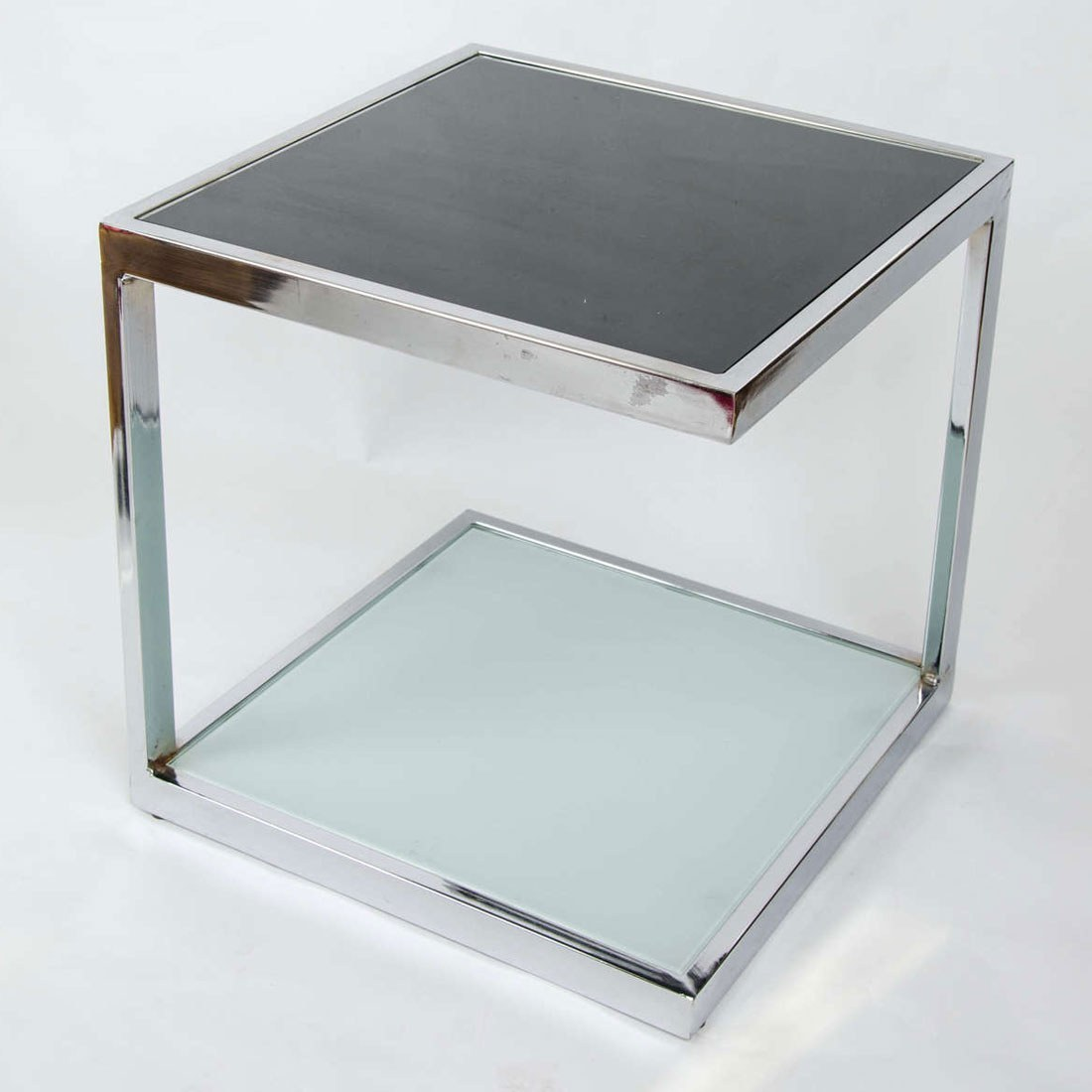Valerie Wade Ft345 Pair 1950S Chrome Side Tables 05