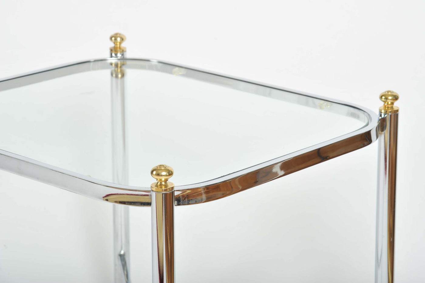 Valerie Wade Ft578 Pair 1970S Chrome Brass Sides Tables03