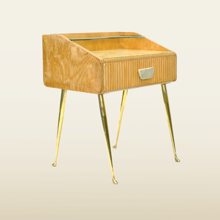 Valerie Wade Ft630 Pair 1950S Italian Bedside Tables 02