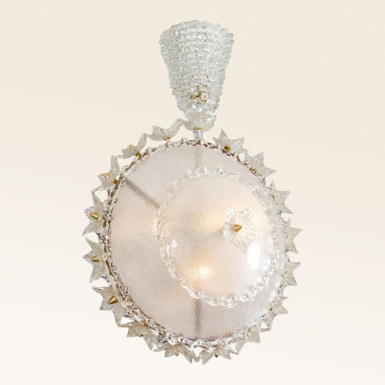 Valerie Wade Lc317 1970S Italian Super Ornate Glass Chandelier 01