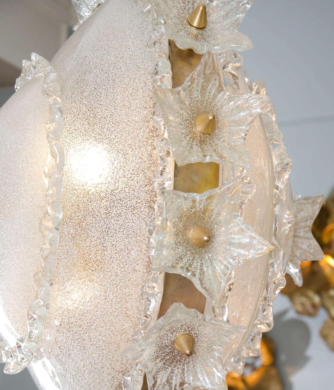 Valerie Wade Lc317 1970S Italian Super Ornate Glass Chandelier 02