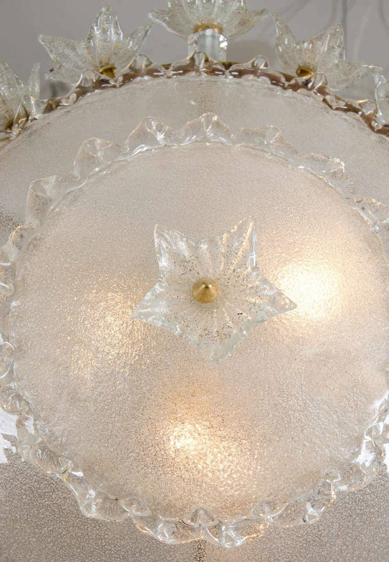 Valerie Wade Lc317 1970S Italian Super Ornate Glass Chandelier 03