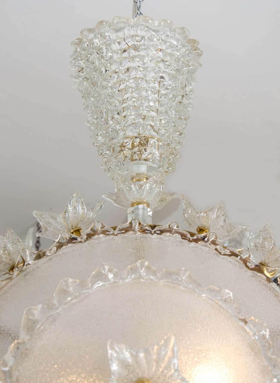 Valerie Wade Lc317 1970S Italian Super Ornate Glass Chandelier 04