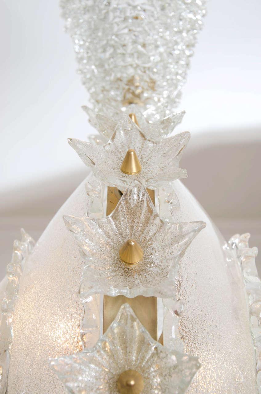 Valerie Wade Lc317 1970S Italian Super Ornate Glass Chandelier 05