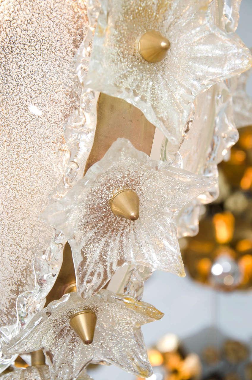 Valerie Wade Lc317 1970S Italian Super Ornate Glass Chandelier 06