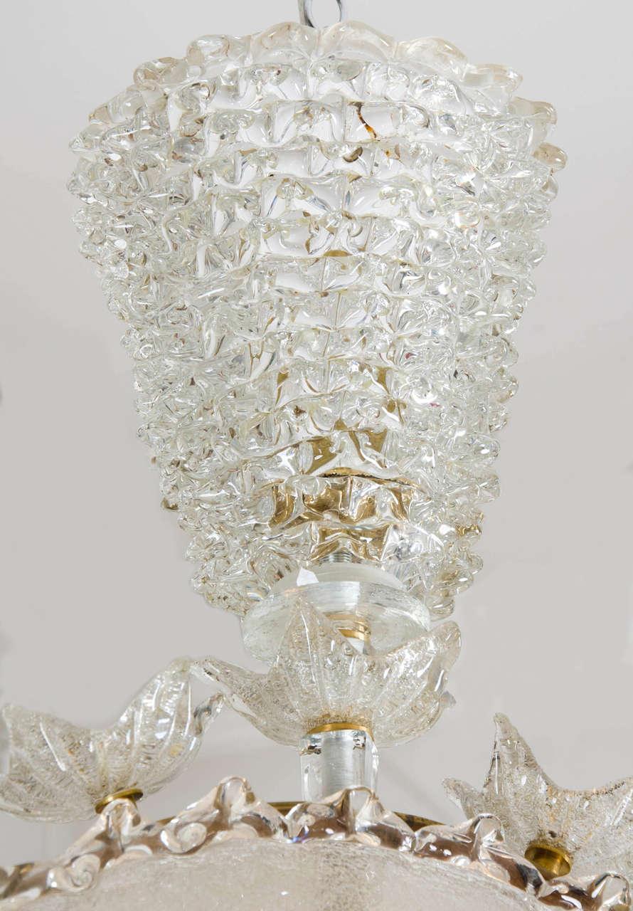 Valerie Wade Lc317 1970S Italian Super Ornate Glass Chandelier 07