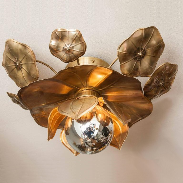 The image for Valerie Wade Lc544 Lotus Flower Ceiling Lights 01