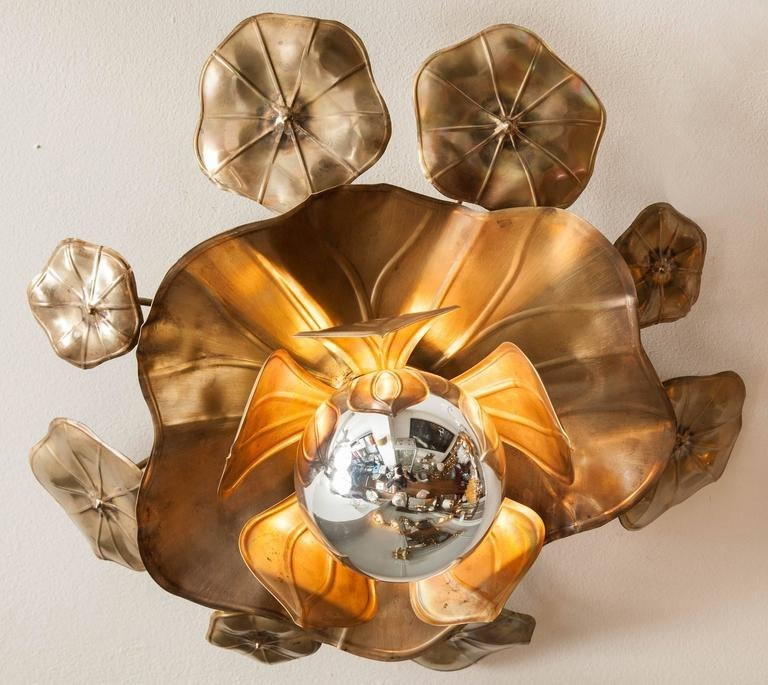 Valerie Wade Lc544 Lotus Flower Ceiling Lights 02