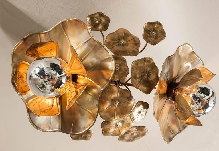 Valerie Wade Lc544 Lotus Flower Ceiling Lights 03