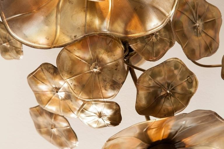 Valerie Wade Lc544 Lotus Flower Ceiling Lights 04
