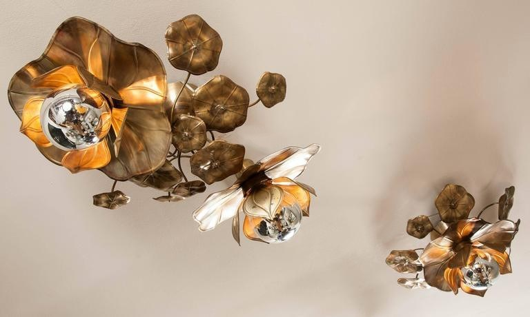 The image for Valerie Wade Lc544 Lotus Flower Ceiling Lights 06