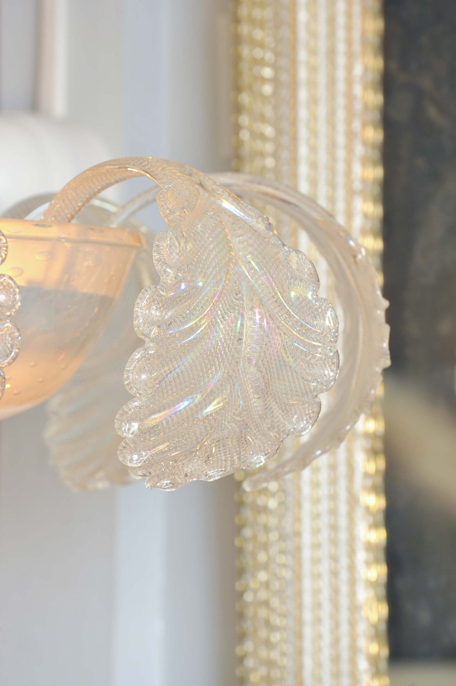 Valerie Wade Lc580 1950S Glass Chandelier Barovier E Toso 05