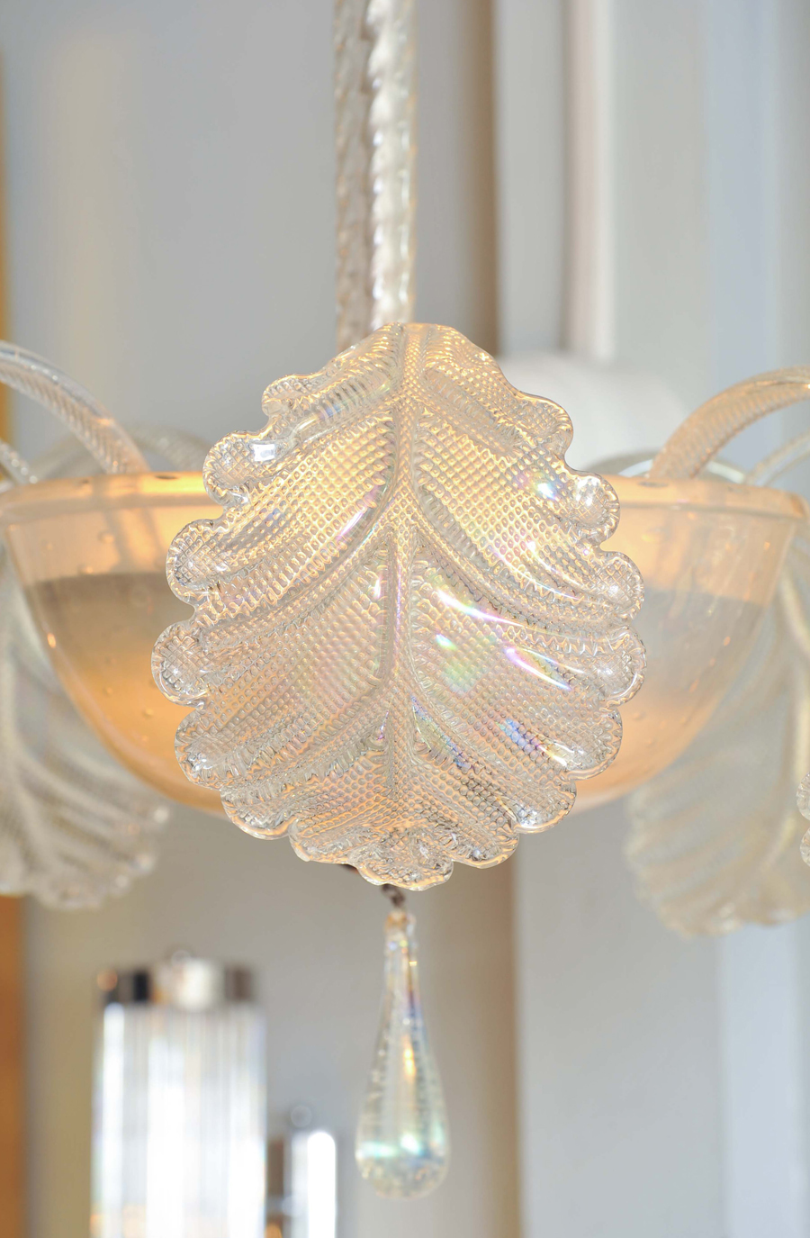 Valerie Wade Lc580 1950S Glass Chandelier Barovier E Toso 06