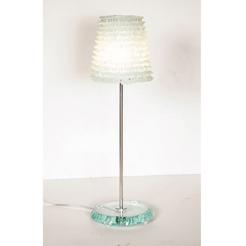 The image for Valerie Wade Lt094 Piecrust Lamp Large 02