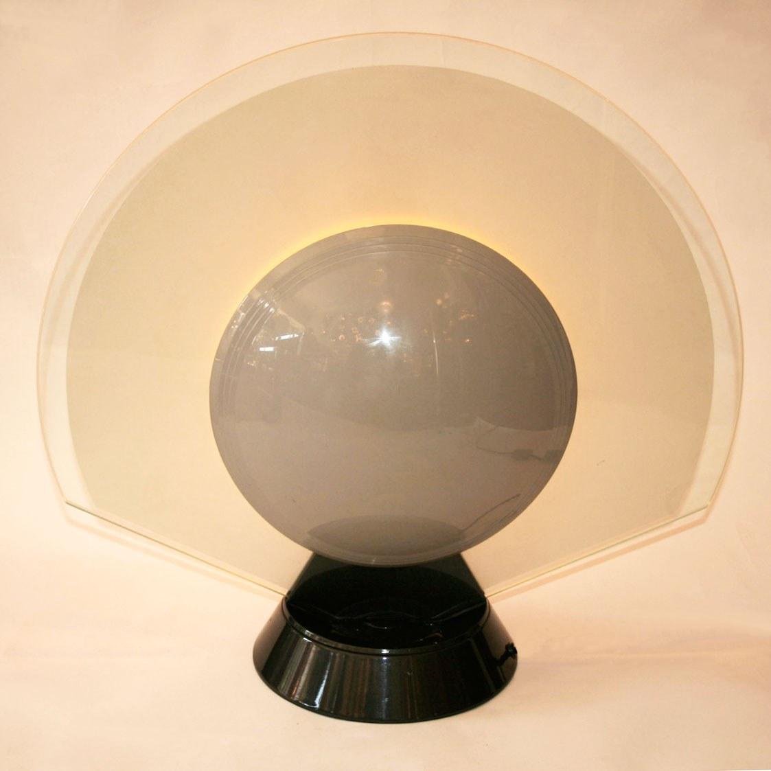 Valerie Wade Lt456 1950S Italian Sun Moon Lamp 02