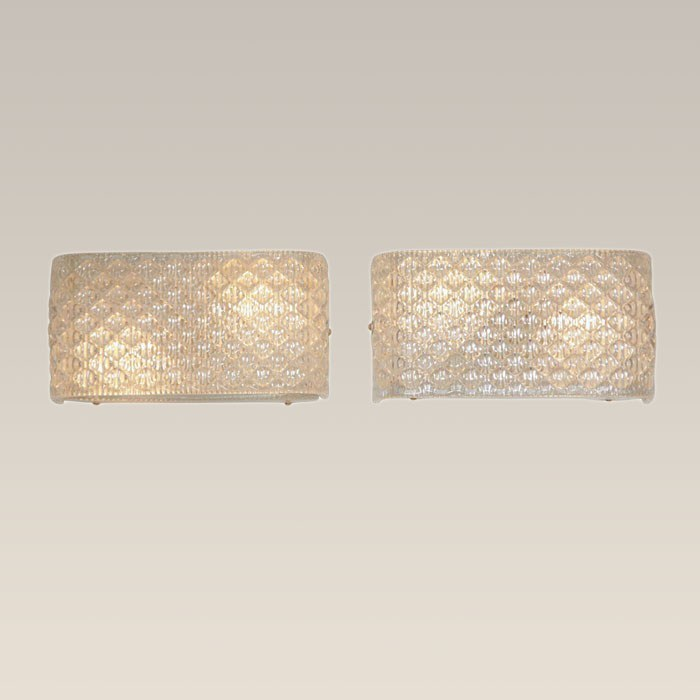 The image for Valerie Wade Lw227 Italian Glass Wall Lights 01