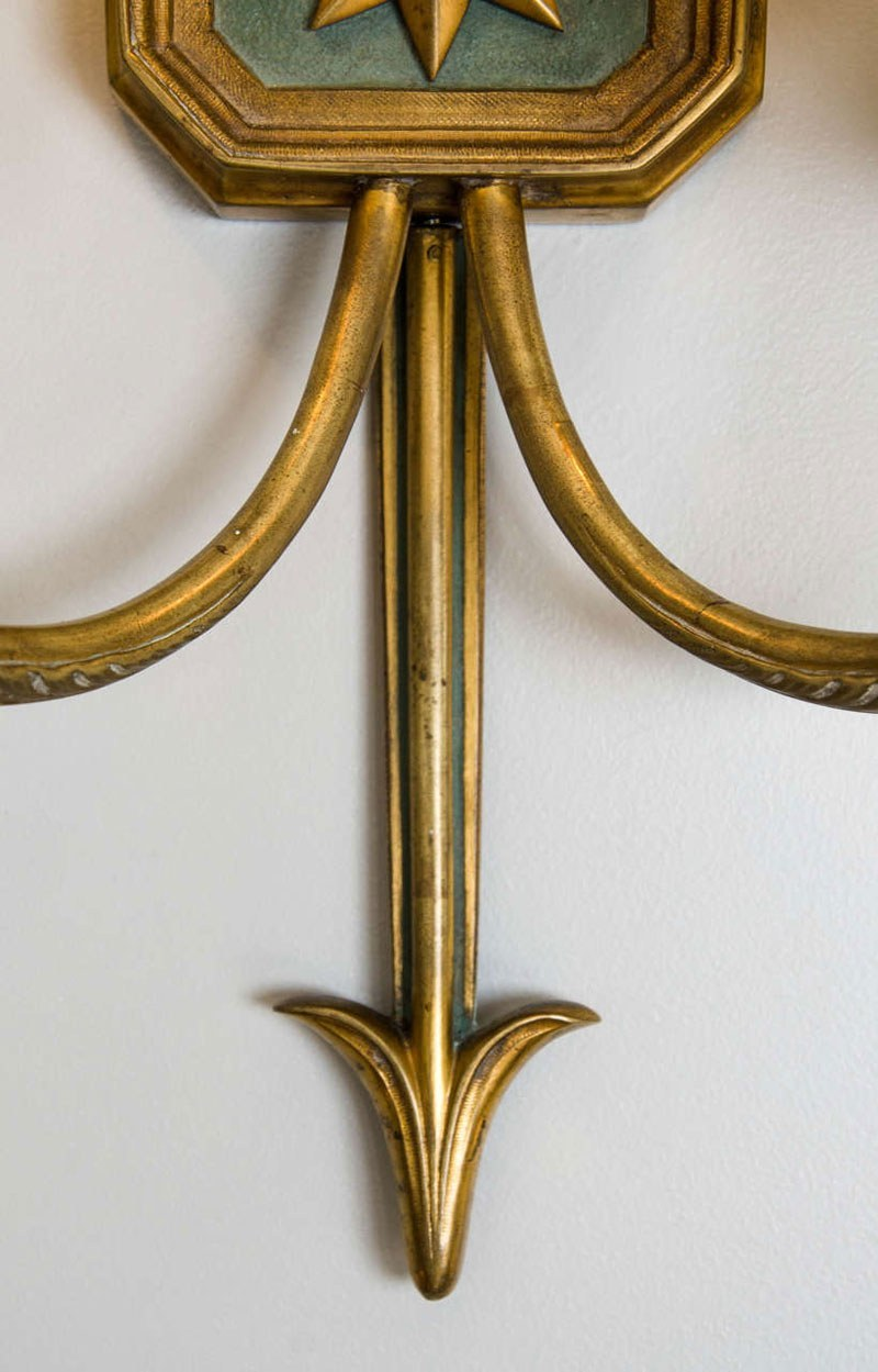 Valerie Wade Lw413 1930S French Times Arrow Wall Lights 05