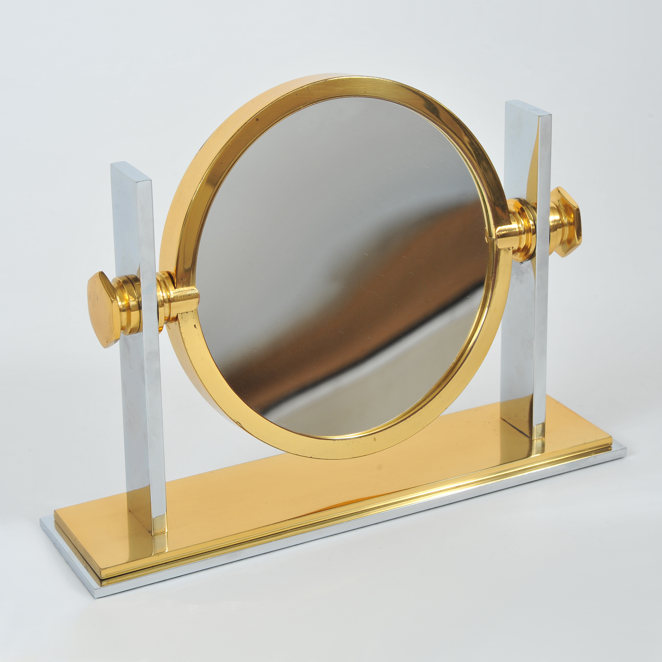 Valerie Wade Mt424 1980S Table Mirror Karl Springer 01