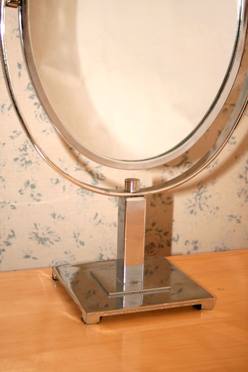 Valerie Wade Mt467 1950S American Oval Table Mirror 02