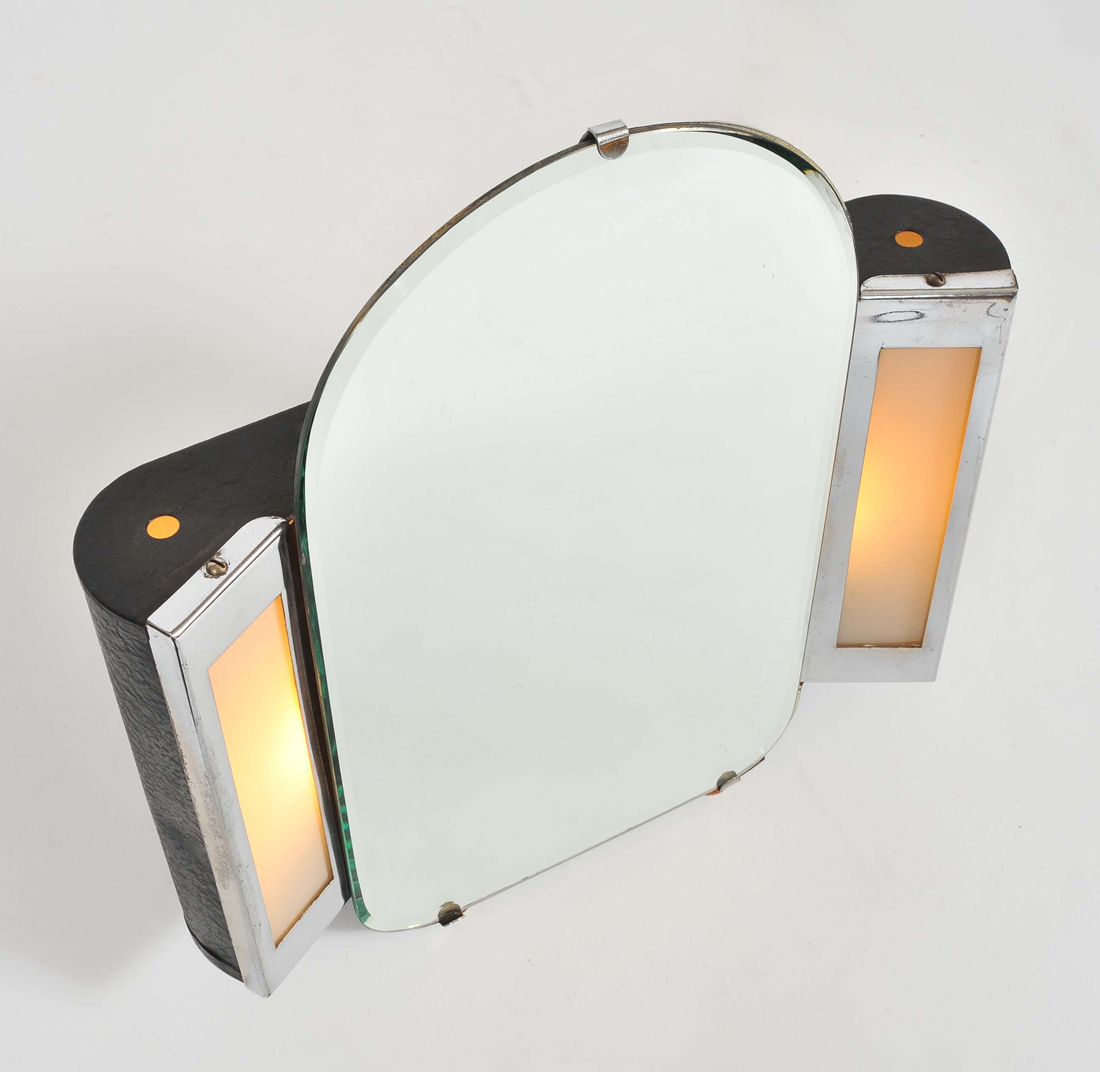 Valerie Wade Mt626 1930S Us Art Deco Illuminated Dressing Table Mirror 02
